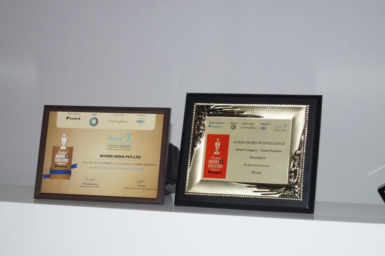 BITZER // BITZER wins Acrex Award for 'Green Products'